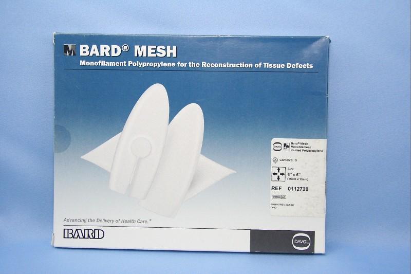 Bard Marlex Mesh 3x6 Related Keywords & Suggestions - Bard Marlex