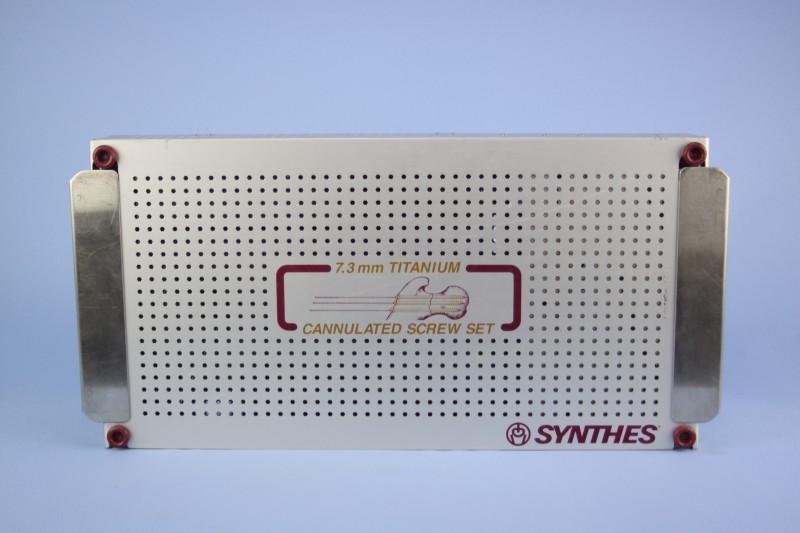 Synthes cann screw set ti mm titanium