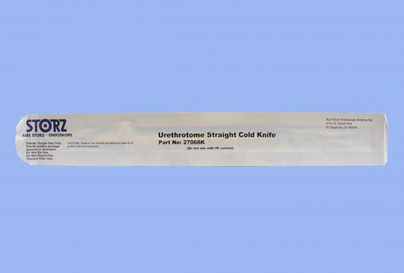 Storz, 27068K-S, Storz Disposable Straight Cold Knife - eSutures